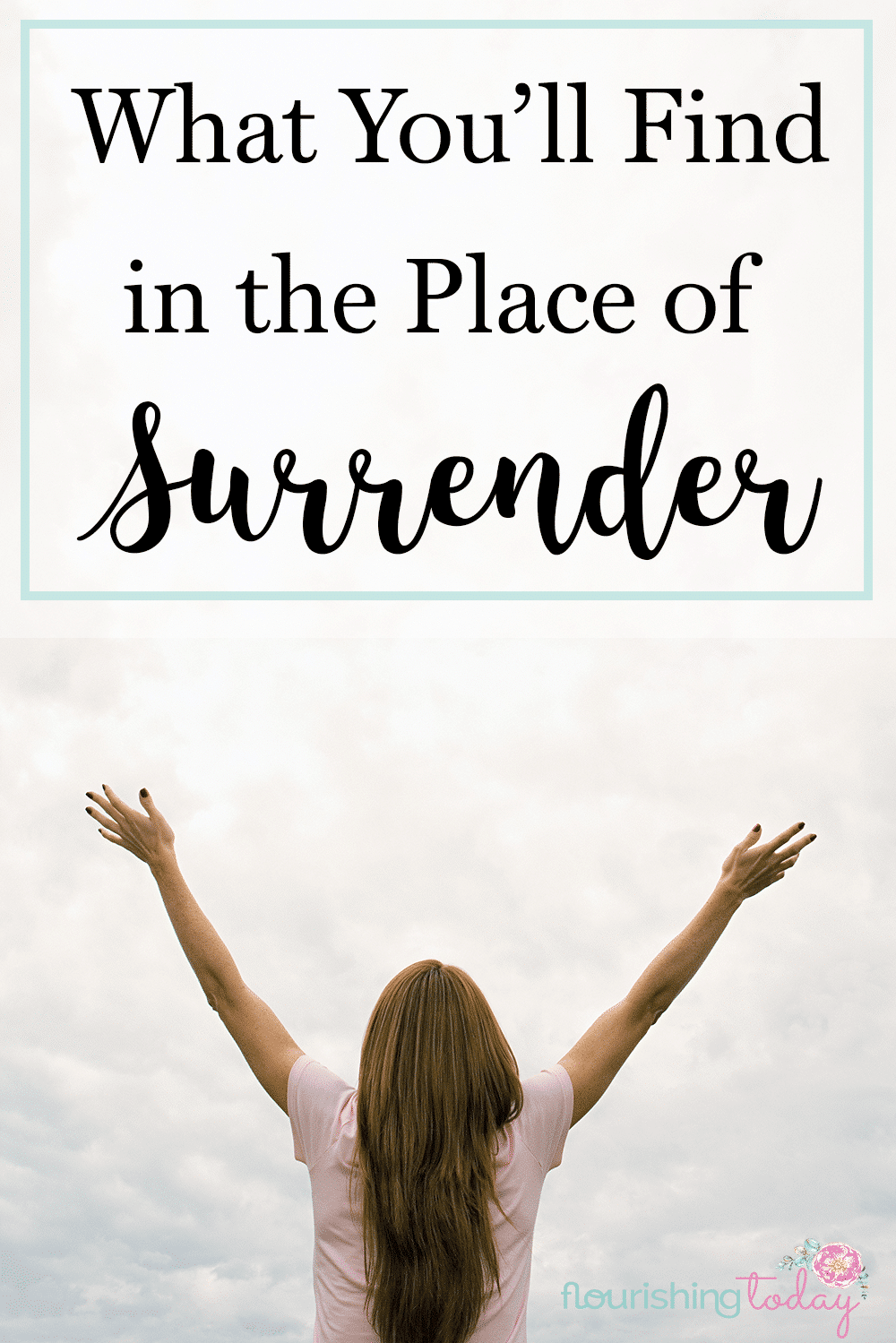 Are feeling stuck in the middle of a mess? Laying it all down can be tough, but when we do- when we surrender to God, we find peace.