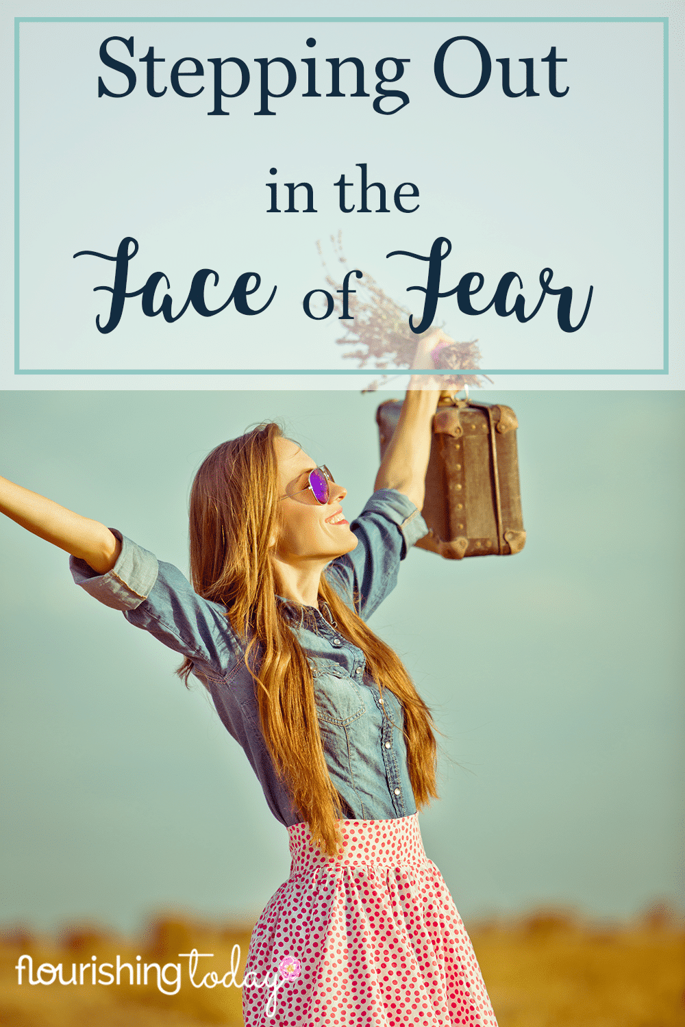 Is God calling you to do something outside your comfort zone? Are you shrinking back in fear? Stepping out in the face of fear can lead you to great things!