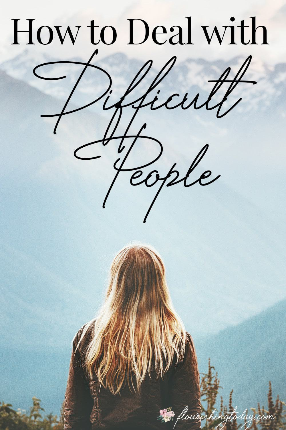 How do you deal with difficult people? Although it's apart of life it isn't always easy to navigate. Here are some tips on how to deal with difficult people.
