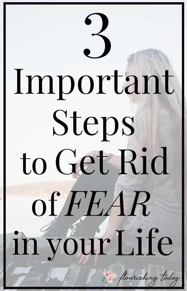 Are you having a hard time getting rid of fear in your life? Here you'll find bible verses about fear, ways for overcoming fear and how conquering fear can become a reality through scripture! #overcomingfear #conqueringfear #fear