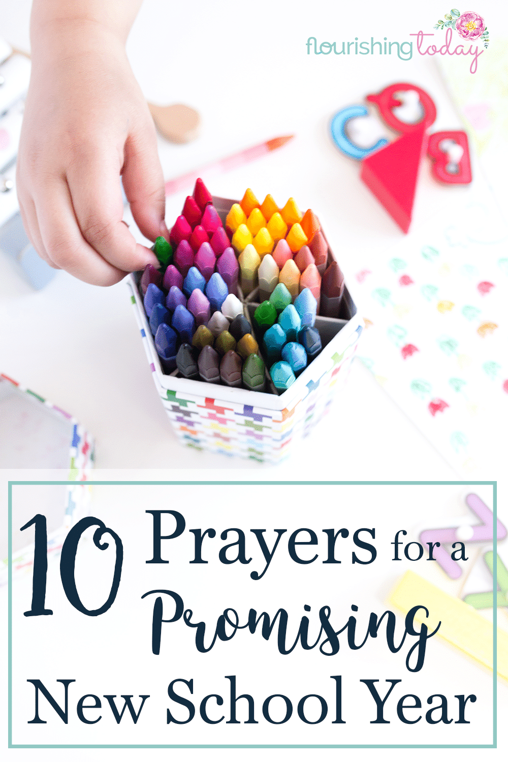 Do you have regular prayers to cover you and your kids this year? I've begun writing my prayers for a new school year and I'm sharing them here!