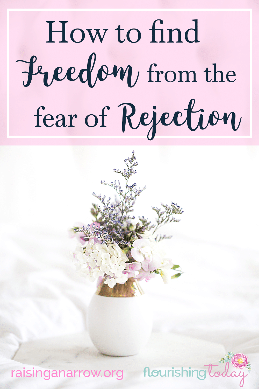 We all will experience rejection at some point, but we don't have to let it define us. Discover how you can find freedom in overcoming fear of rejection.