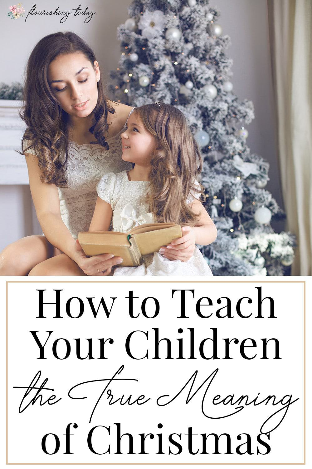 How do you teach your children about Jesus during Christmas? Here are 4 books that teach the true meaning of Christmas to share with your child. #truemeaningofChristmas #christmas #christmasbooks