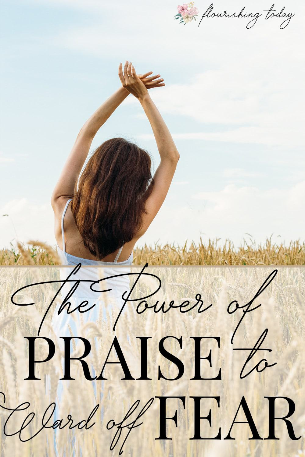 Is fear seeking to steal your joy? God has given us everything we need to overcome. Find out how the power of praise and worship can ward off fear! #overcomefear #praise #worship