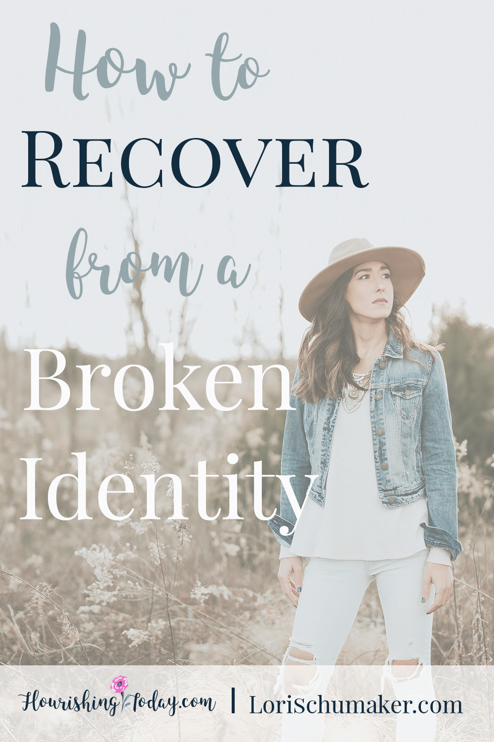 Are you suffering from a broken identity? There is hope! Jesus died to give you a secure identity in Him. Find out how to recover from a broken identity.