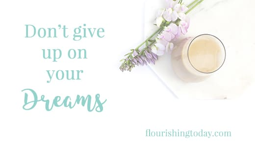 Do your dreams seem dead? You've been waiting and are on the verge of giving up? Here are some tips on how to respond to your impossible dreams.