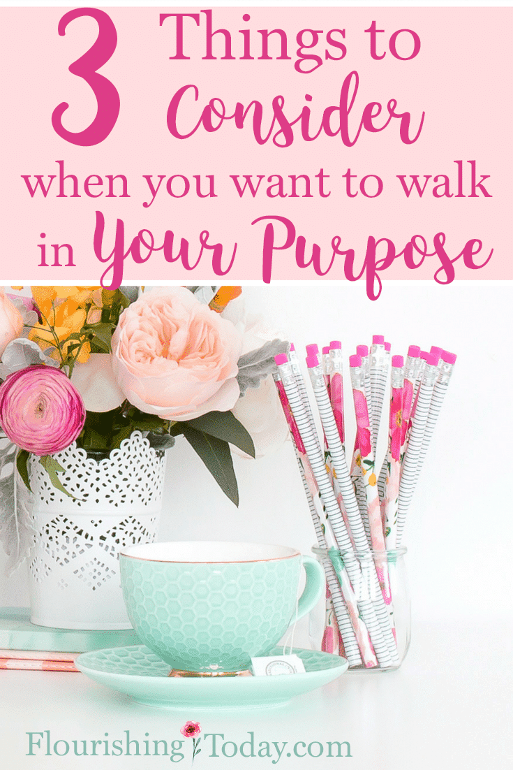Have you been feeling stuck? You know you should be doing something but you're not sure what? Here are things to consider to walk in your purpose.