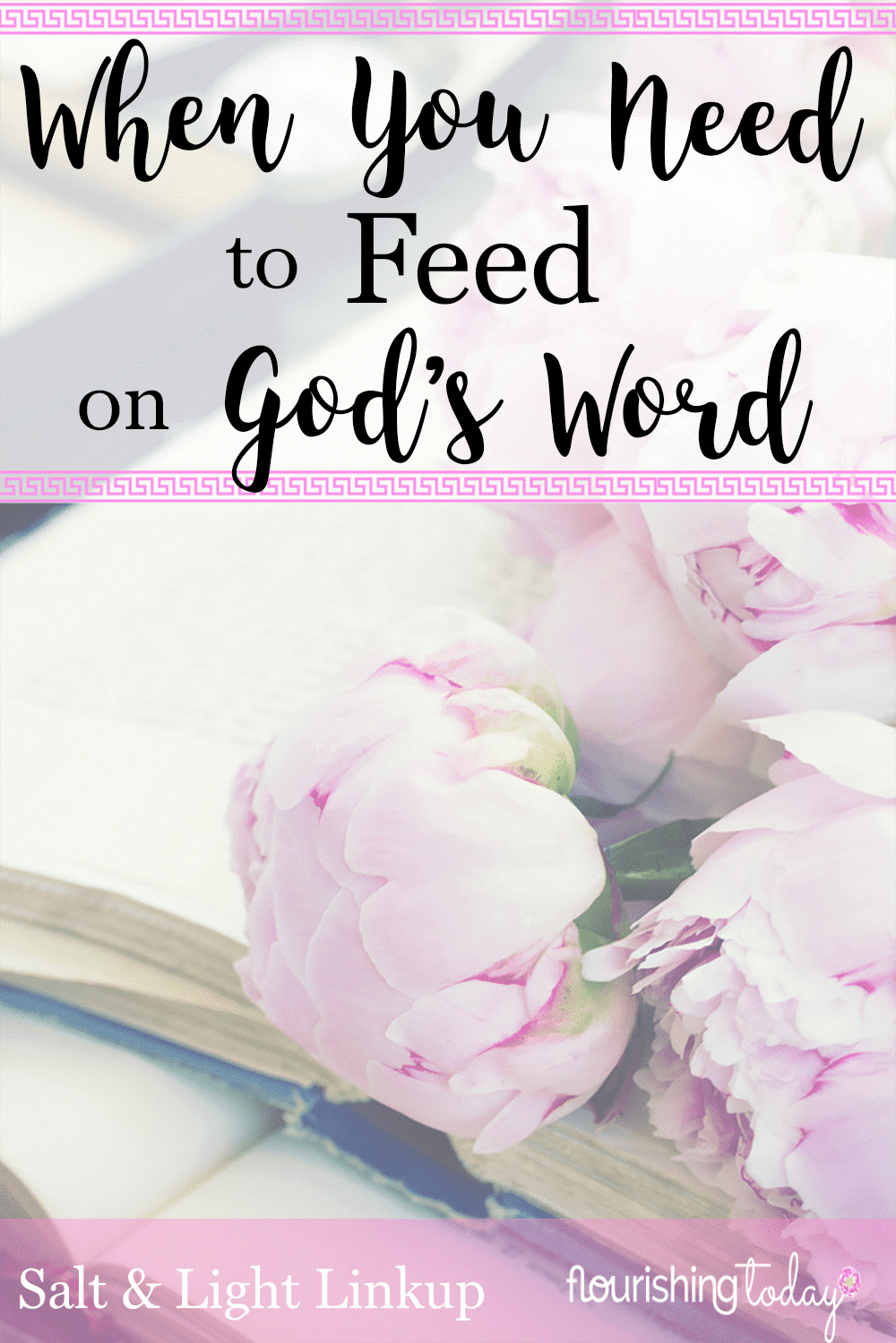 Do you find yourself craving God's Word? Sometimes we are become spiritually dry and need to feed on God's Word. Here are great tips for feeding on the Word