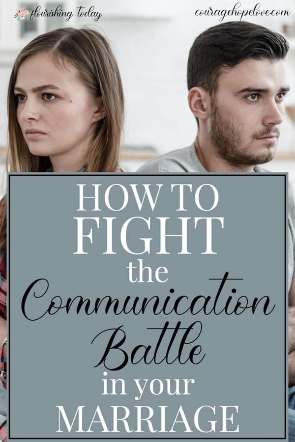 Do you seem to be in a constant battle in your marriage? Not sure what to do? Here are 3 ways to sure up your communication in marriage. #marriage #marriagetips #relationships