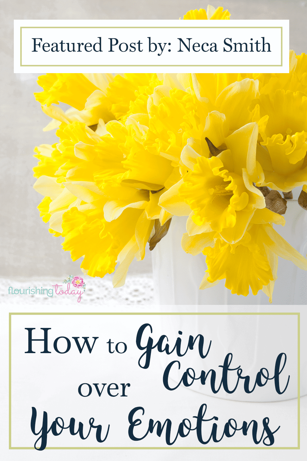 Do you struggle to control your emotions? Our emotions can easily try to rule us, leaving us feeling helpless. Here are 4 ways to control your emotions.