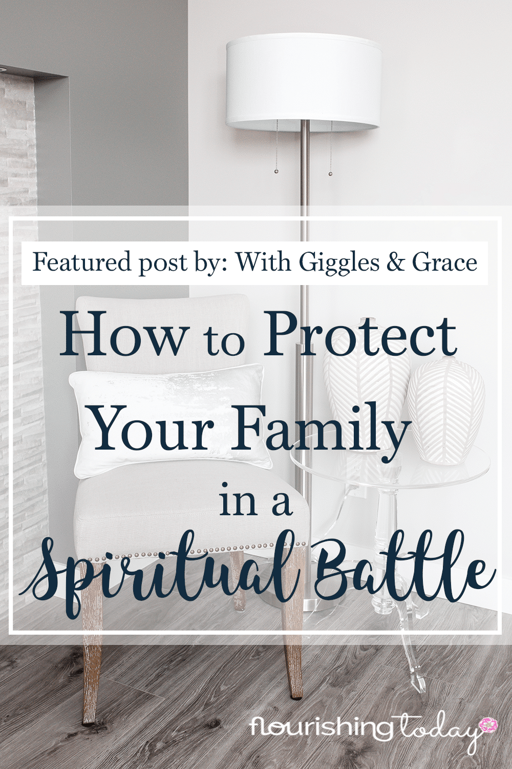 How do you protect your family in a Spiritual Battle? Here are a few ways to fight for your family when you feel attacked by the enemy.