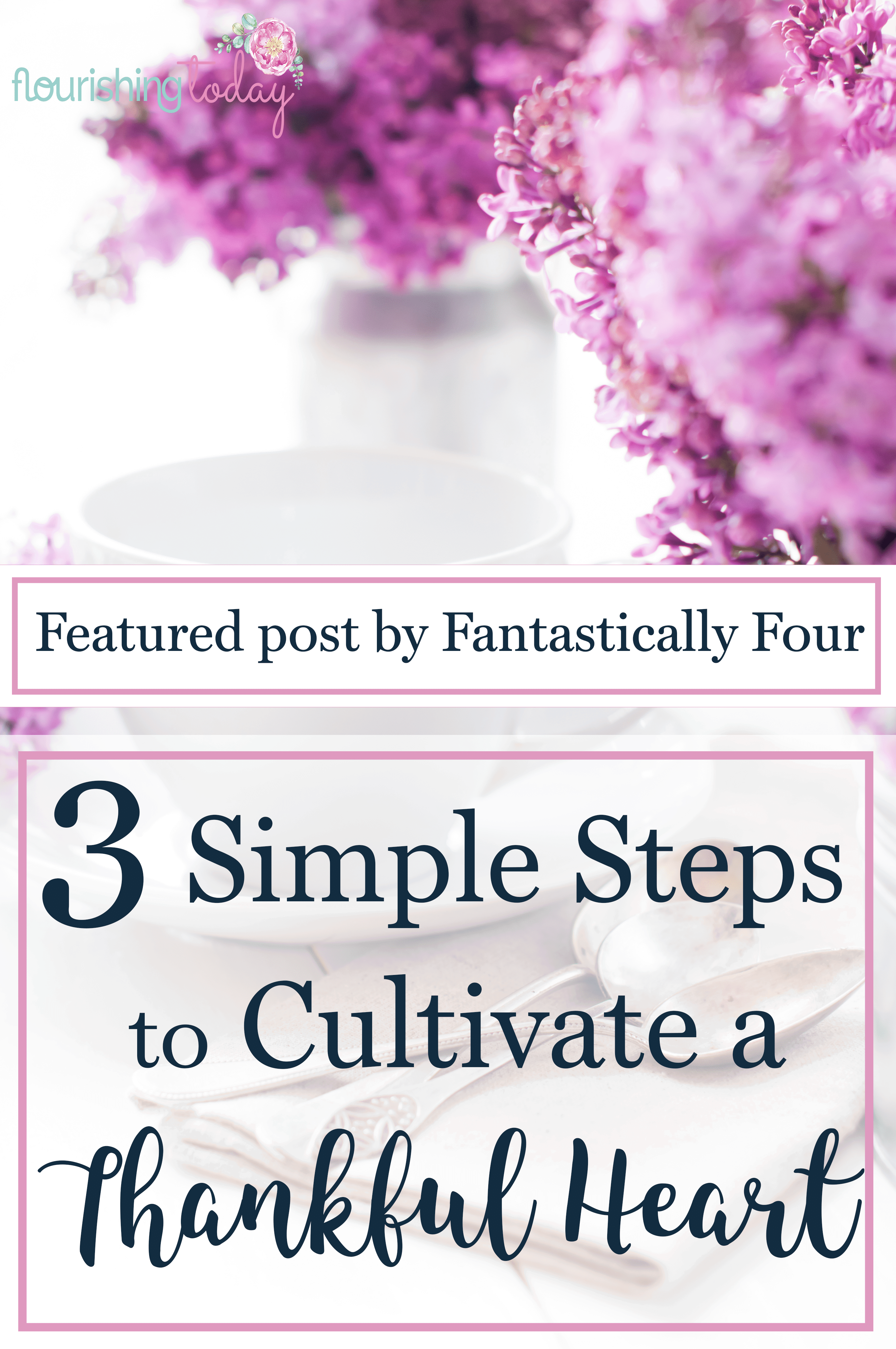 Do you find yourself complaining about certain things in your life? Perhaps you need a little encouragement. Here's 3 steps to cultivate a thankful heart.
