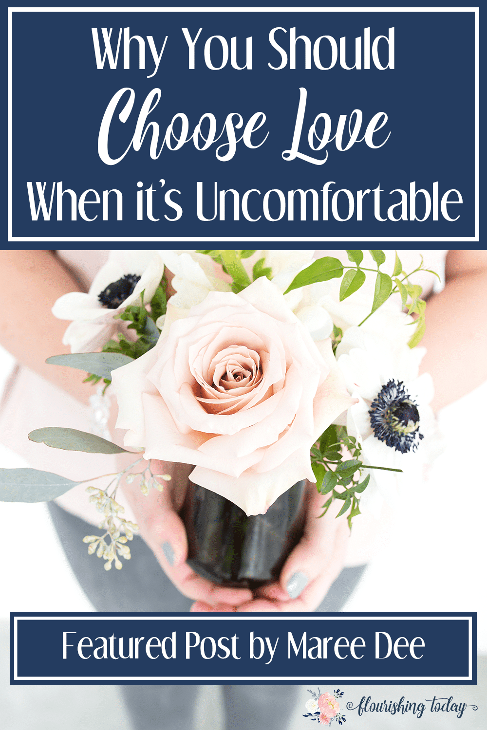 Do you find it hard to love others when its uncomfortable? Love is not just an emotion, but a choice. We can choose love despite our feelings and here's how