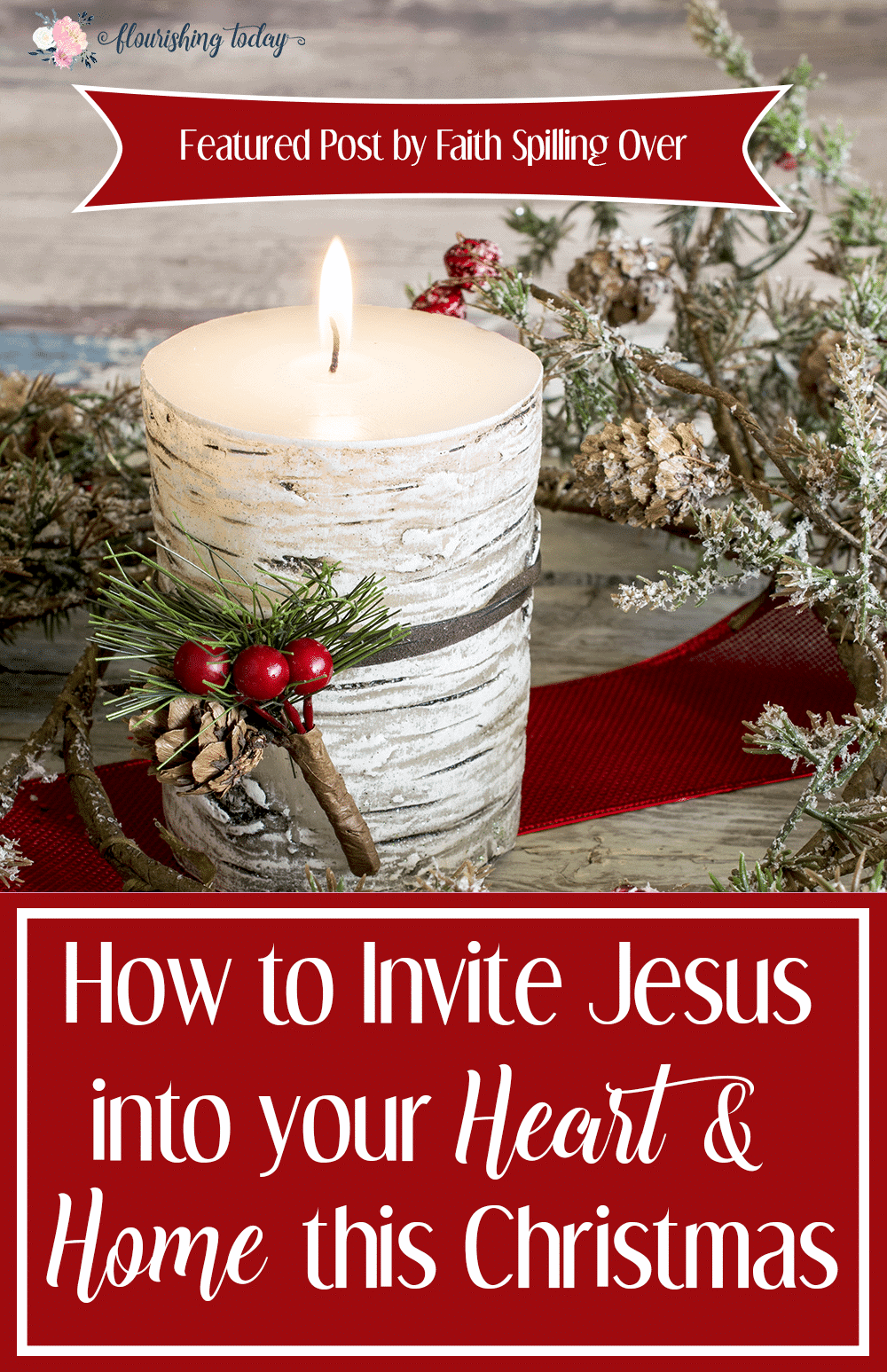 How do you plan to keep Jesus in Christmas this year? Here are a few ways to invite Him into your heart and home and keep Him the centerpiece of the holiday