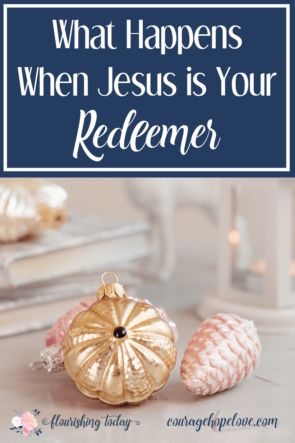 What does it mean that Jesus is our Redeemer? How does that affect us? Join us for a study on the names of Jesus and learn who He is as your Redeemer.