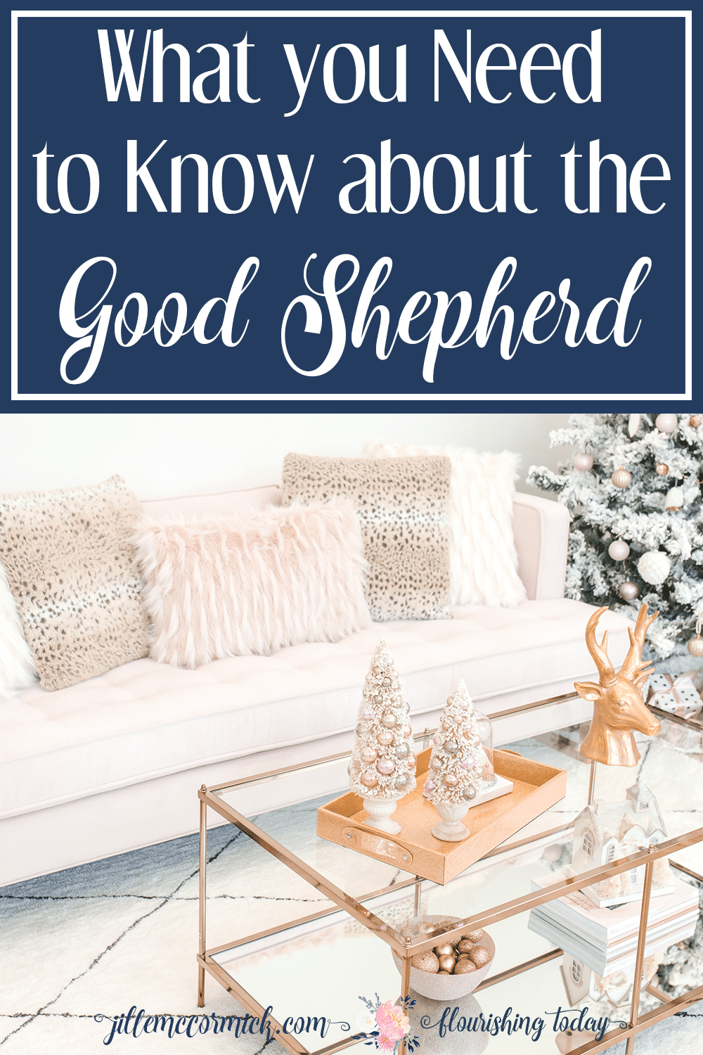 Do you know Jesus the Good Shepherd? What better way to celebrate Christmas than to get to know Him. Here's 3 things you should know about the Good Shepherd