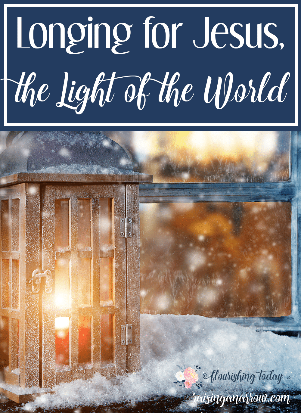Are you in a dark place right now? Jesus, the Light of the World is there waiting for you. All you have to do is call out to Him