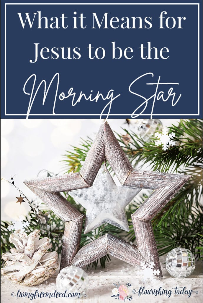 What does it mean for Jesus to be the Morning Star? Join us as we search the scriptures for the Names of Jesus this Christmas. Grab your FREE Printable Names of Jesus Bible Reading Plan. #namesofJesus #Christmas #freeprintable #Jesus