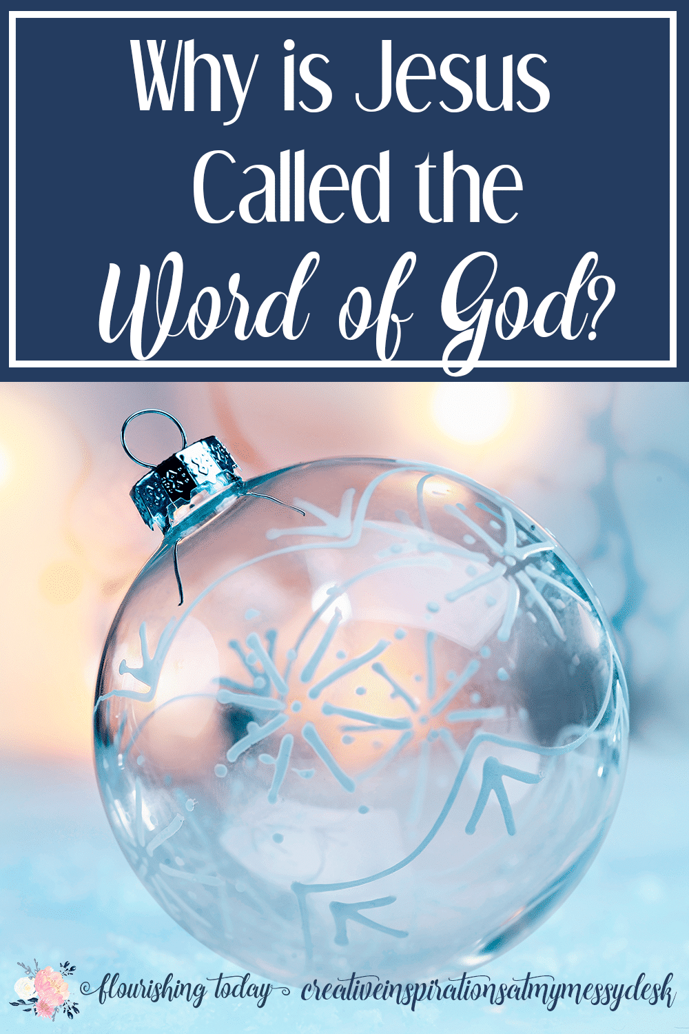 Have you ever wondered why Jesus is called the Word of God? Join us as we study the names of Jesus and find out about Jesus the Word made flesh.