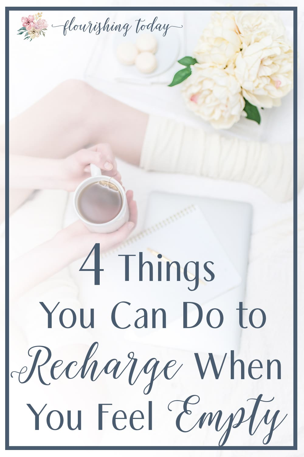 What do you do when you feel empty? Many times we isolate. But that isn't a healthy solution! Here are 4 simple things you can do when you feel empty! #burnout #emptiness #recharge #overcome