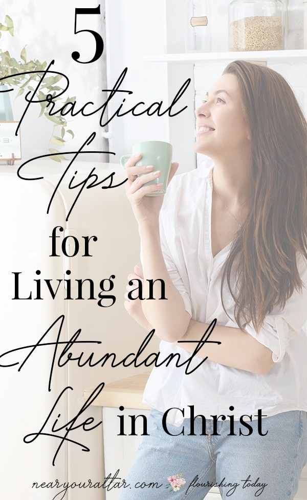 Are you ready to walk in the abundance that Christ died to give you? Here you'll find scripture and truths from the Bible to help you live an abundant life in Christ. #abundantlife #abundance #lifeinChrist #Bible #scriptures