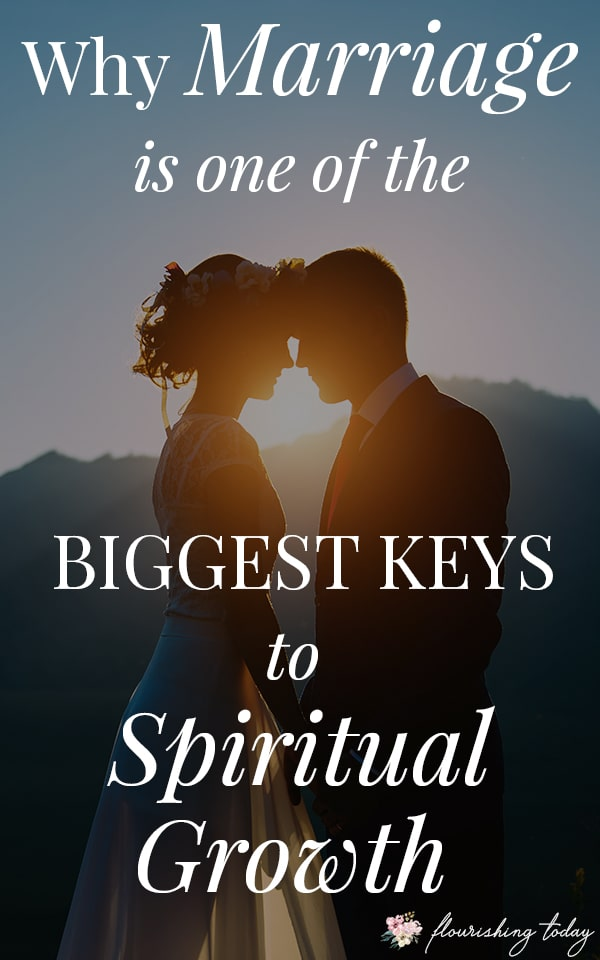 God uses many things to help us grow spiritually as Christians. One of the biggest ways is through our marriage and relationships. Here are some keys to spiritual growth as women of God. #marriage #spiritualgrowth #christianwomen #marriedlife